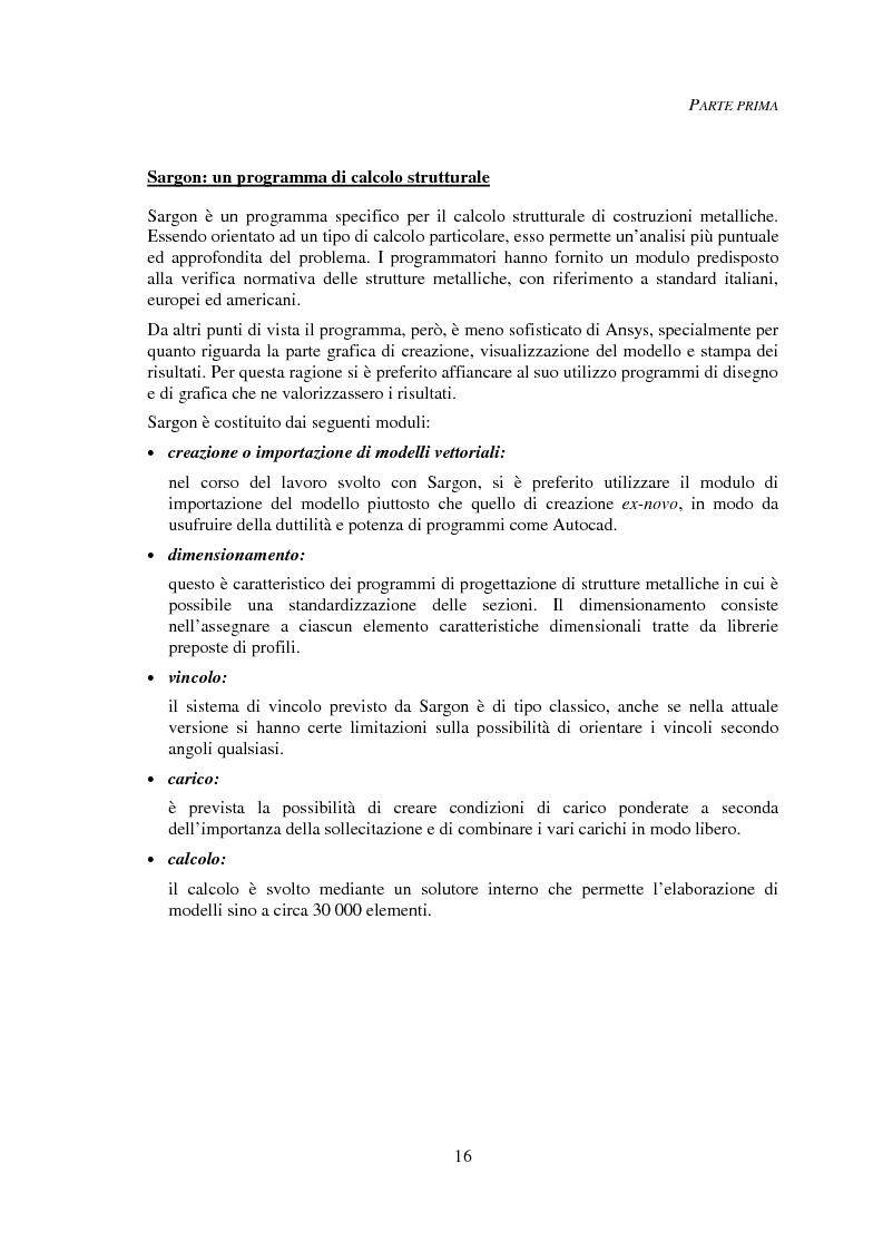 Anteprima della tesi: Progettazione automatica delle strutture reticolari spaziali, Pagina 12