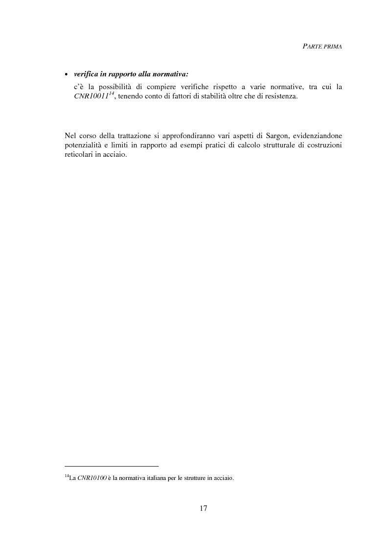 Anteprima della tesi: Progettazione automatica delle strutture reticolari spaziali, Pagina 13