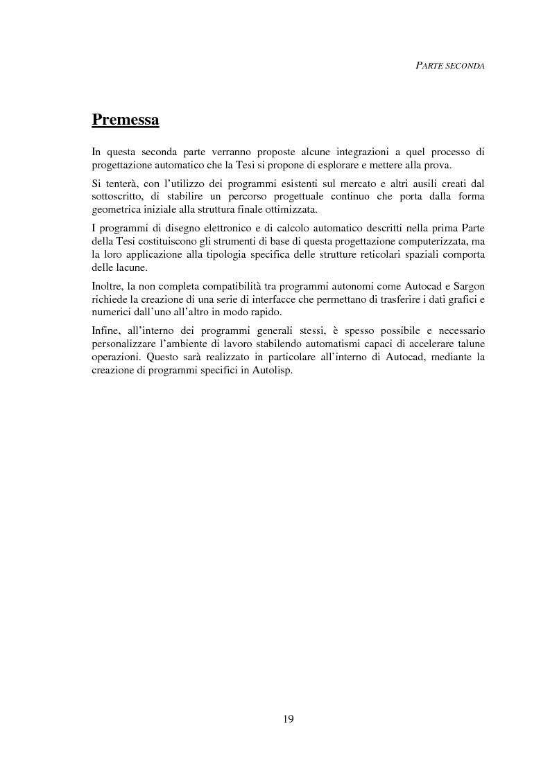 Anteprima della tesi: Progettazione automatica delle strutture reticolari spaziali, Pagina 15