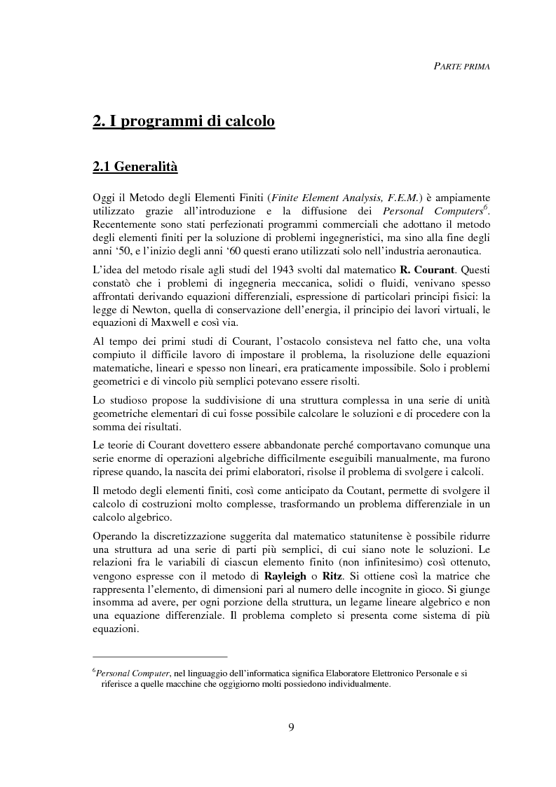 Anteprima della tesi: Progettazione automatica delle strutture reticolari spaziali, Pagina 5