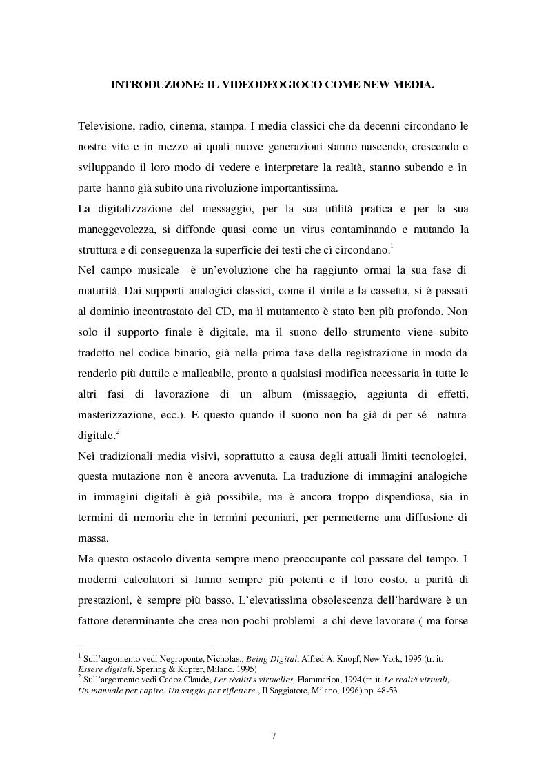 Strategie comunicazionali e linguistiche del videogame - Tesi di Laurea