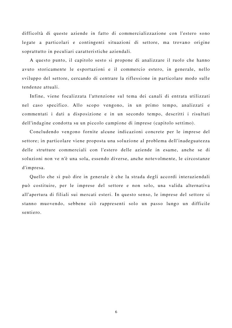Anteprima della tesi: I canali di entrata sui mercati esteri per i beni industriali: analisi del caso delle macchine utensili in Italia, Pagina 2