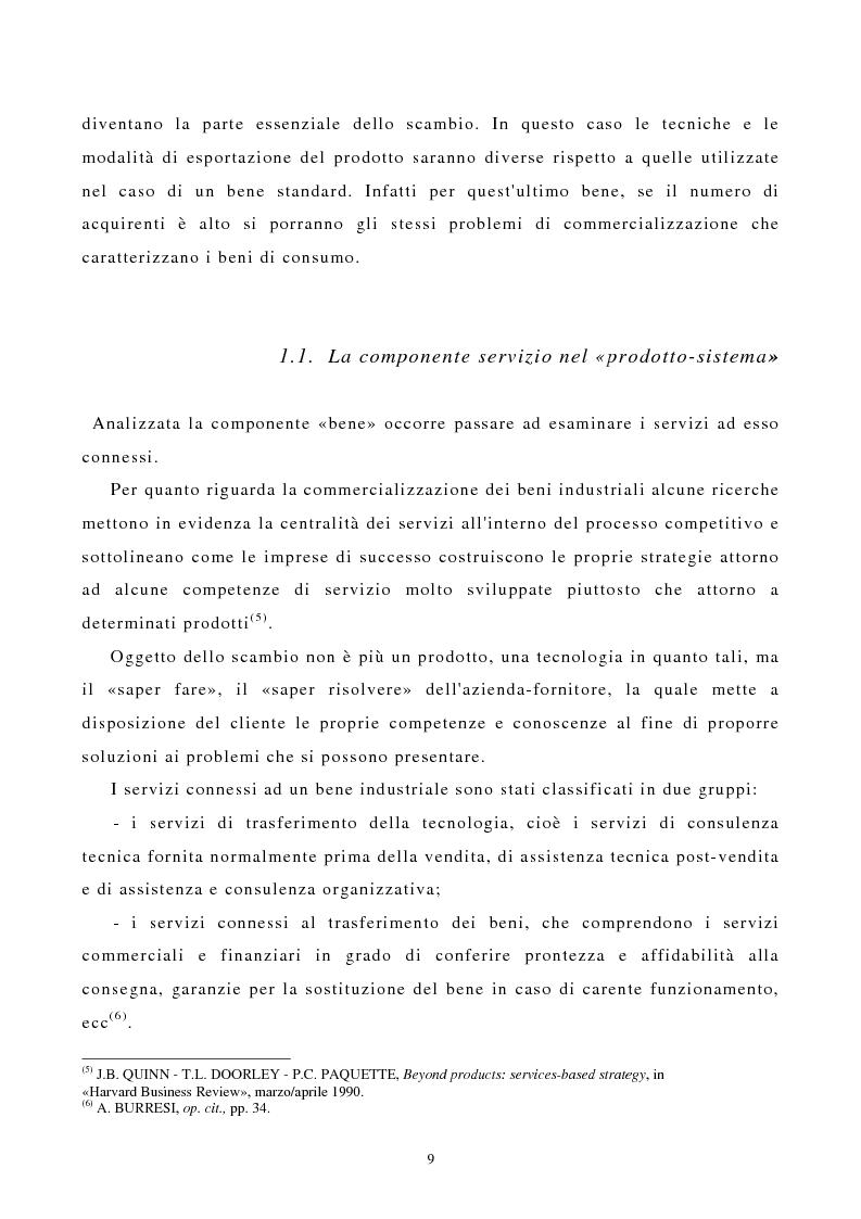 Anteprima della tesi: I canali di entrata sui mercati esteri per i beni industriali: analisi del caso delle macchine utensili in Italia, Pagina 5
