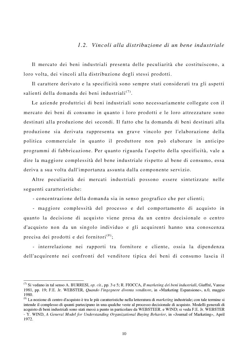 Anteprima della tesi: I canali di entrata sui mercati esteri per i beni industriali: analisi del caso delle macchine utensili in Italia, Pagina 6