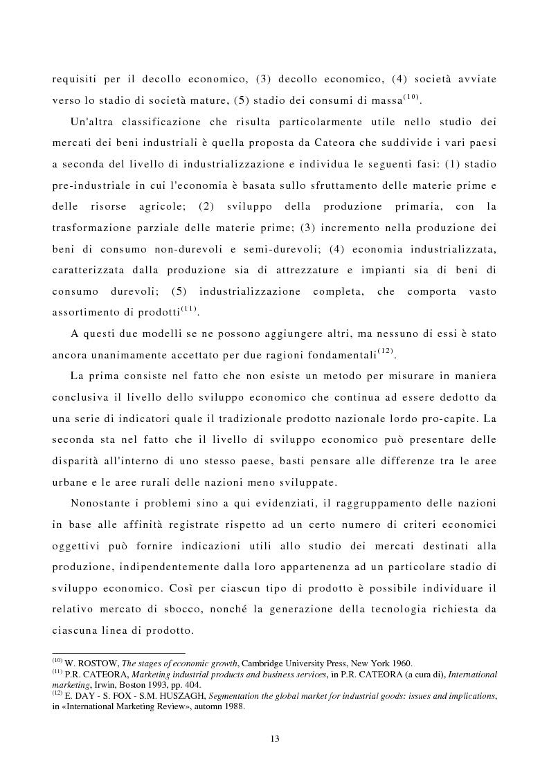 Anteprima della tesi: I canali di entrata sui mercati esteri per i beni industriali: analisi del caso delle macchine utensili in Italia, Pagina 9