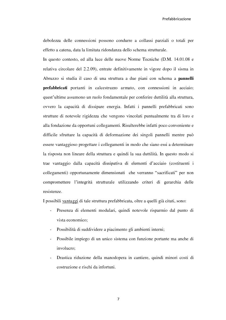 Anteprima della tesi: Utilizzo dei pannelli prefabbricati portanti nell'edilizia residenziale, Pagina 4