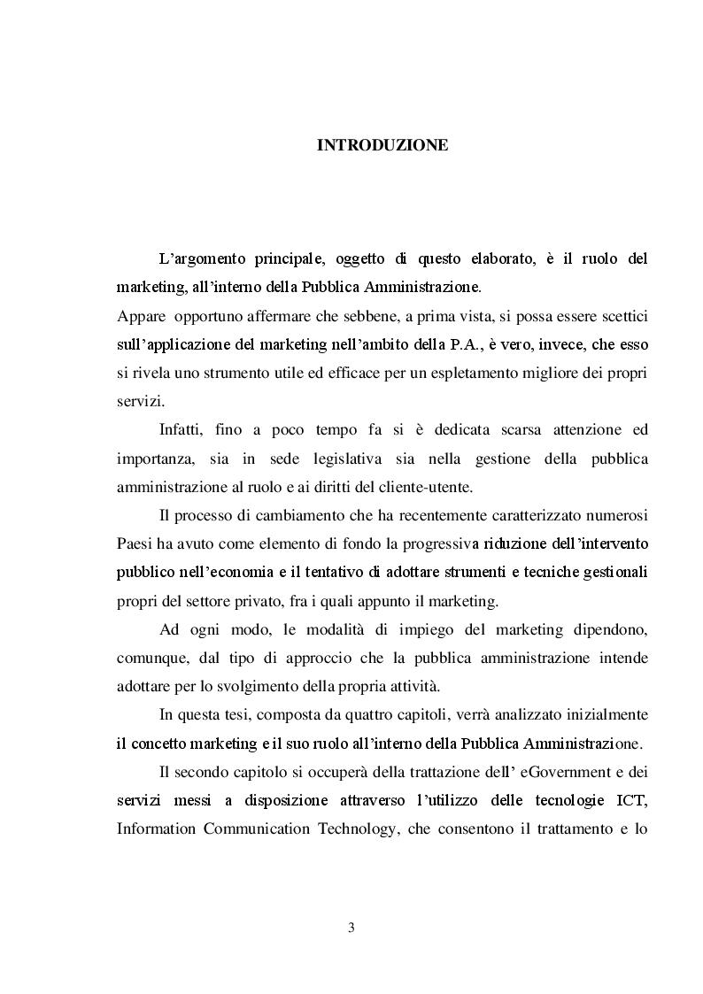 Il marketing pubblico: il piano strategico del Comune di Catanzaro - Tesi di Laurea