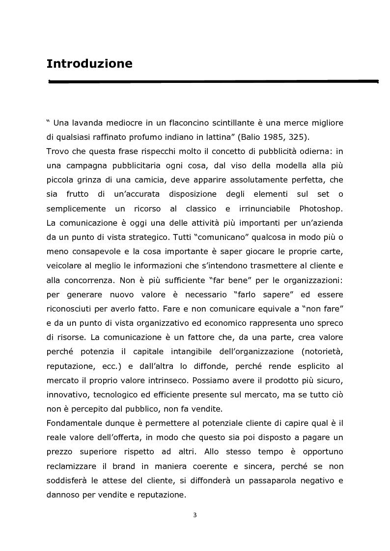 Anteprima della tesi: Comunicazione e pubblicità come fonte di valore per il marchio: il caso Guess, Pagina 2