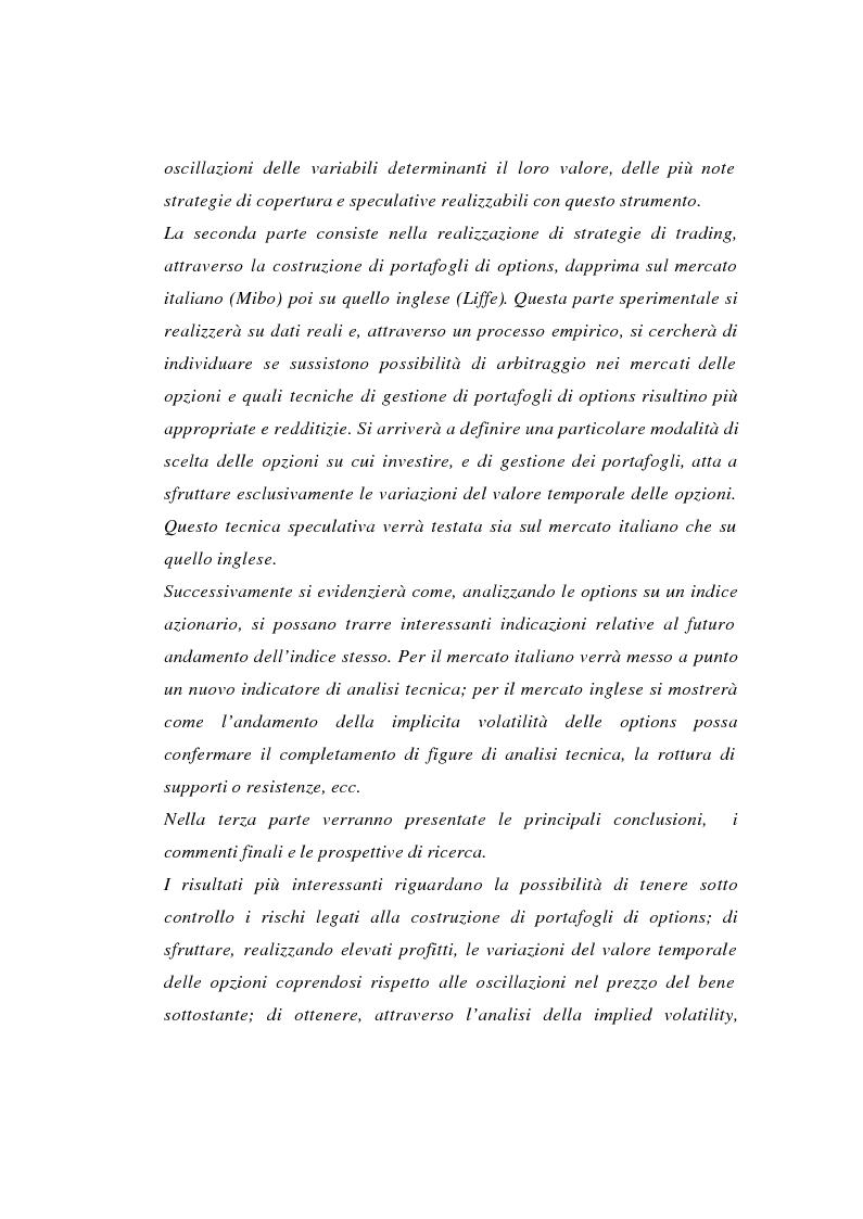 Anteprima della tesi: Tecniche di gestione di portafogli speculativi di options, Pagina 2