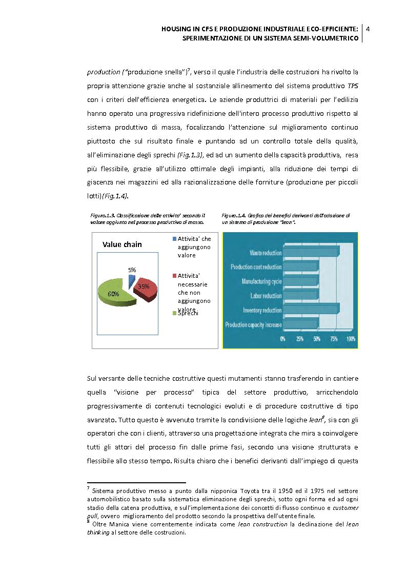 Anteprima della tesi: Housing in CFS e produzione industriale eco-efficiente. Sperimentazione di un sistema semi-volumetrico., Pagina 5