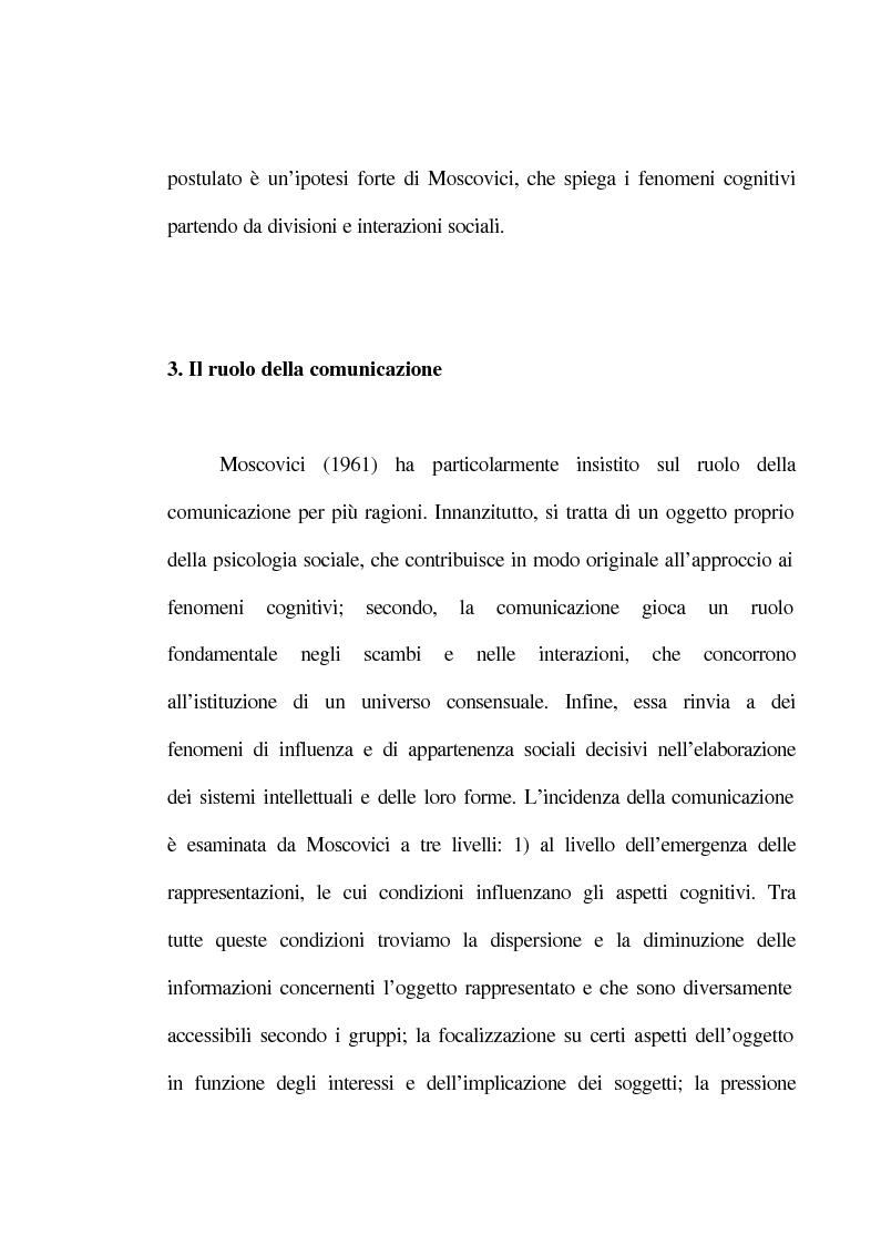Anteprima della tesi: La rappresentazione sociale del lavoro. Un'analisi del rapporto tra giovani e mondo del lavoro., Pagina 10