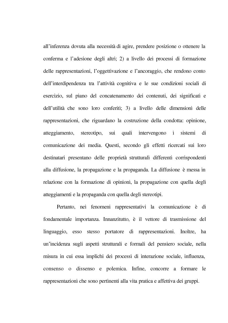 Anteprima della tesi: La rappresentazione sociale del lavoro. Un'analisi del rapporto tra giovani e mondo del lavoro., Pagina 11