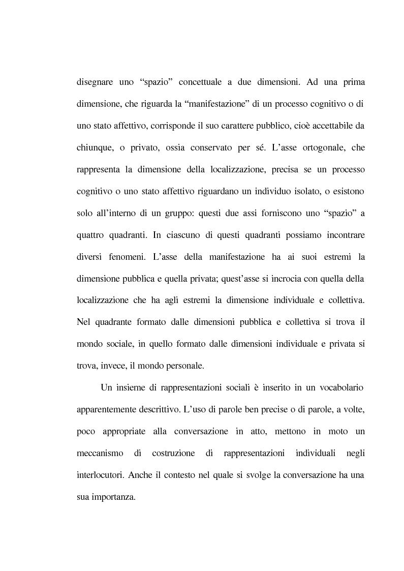 Anteprima della tesi: La rappresentazione sociale del lavoro. Un'analisi del rapporto tra giovani e mondo del lavoro., Pagina 14