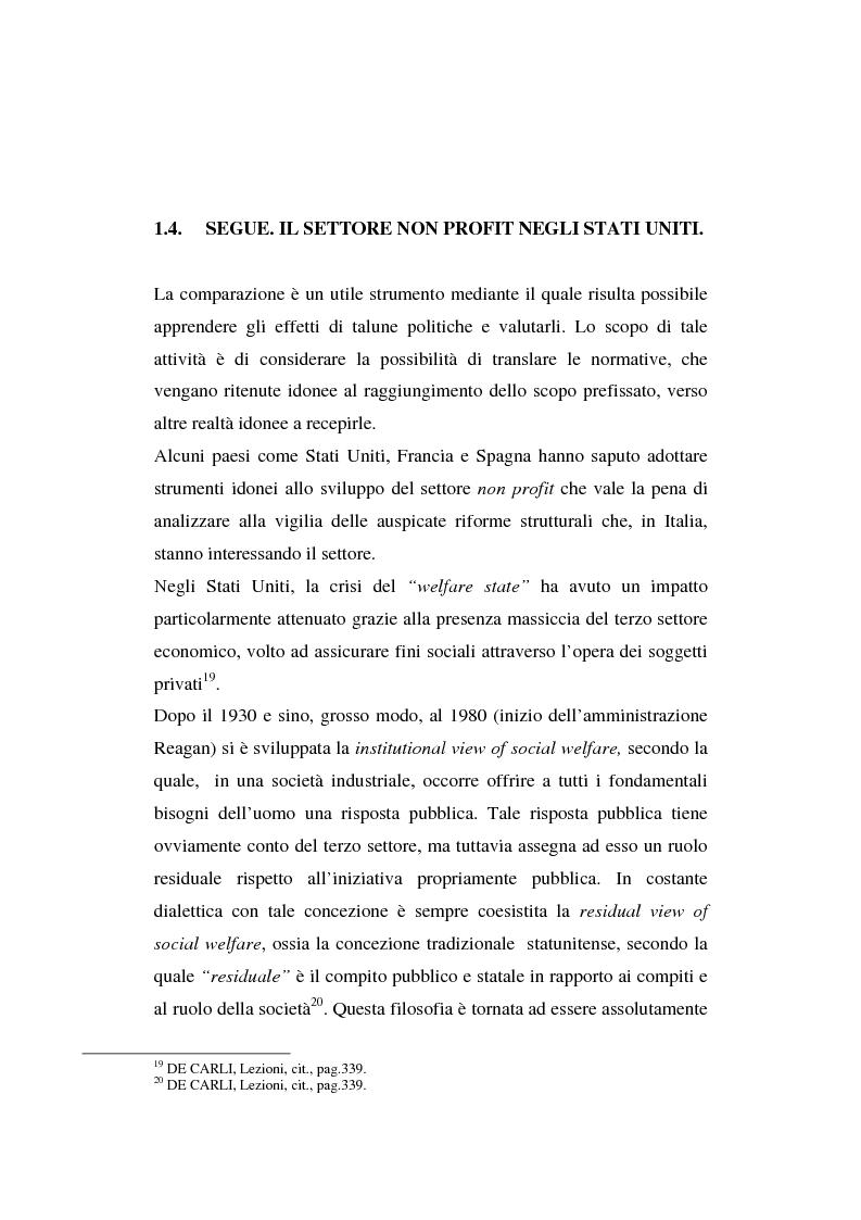 Anteprima della tesi: Gli enti non lucrativi, Pagina 13