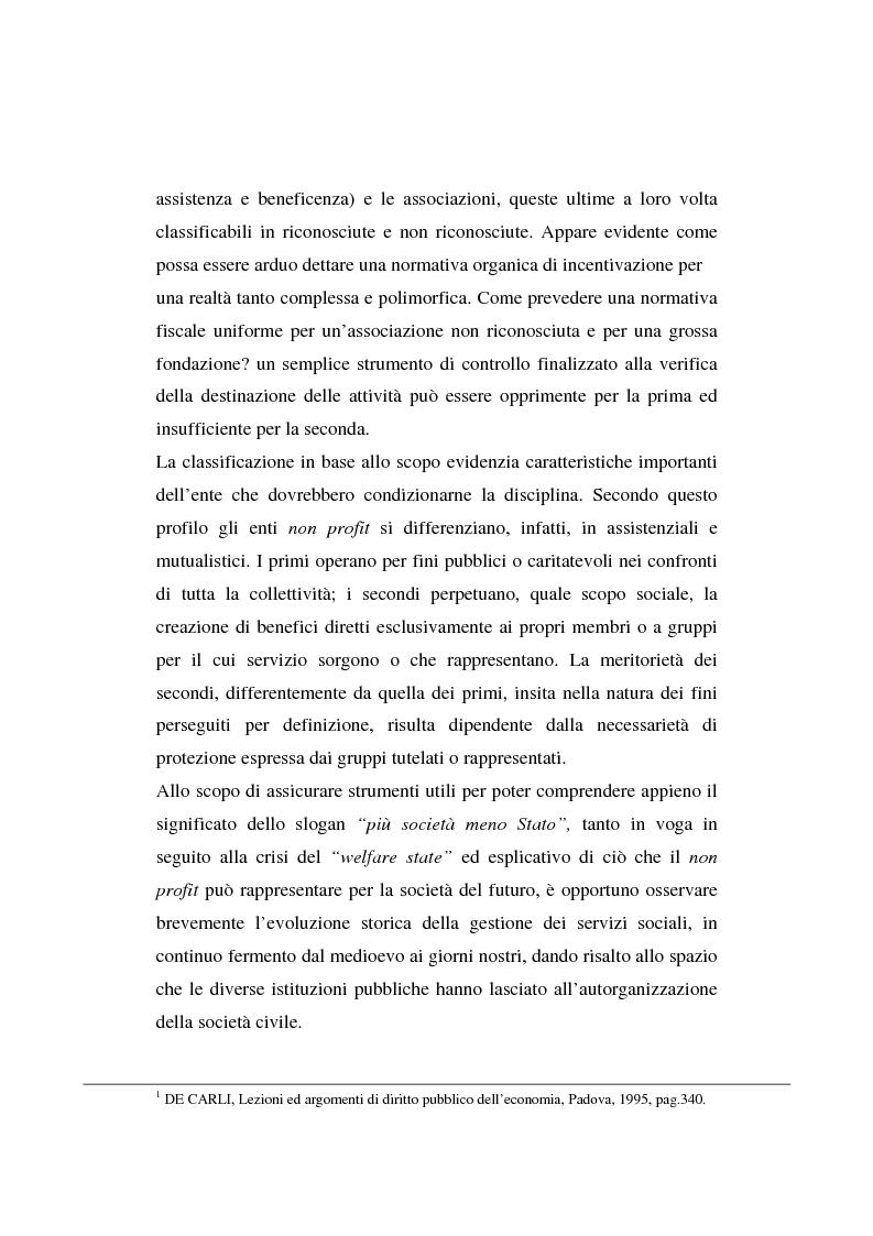 Anteprima della tesi: Gli enti non lucrativi, Pagina 2