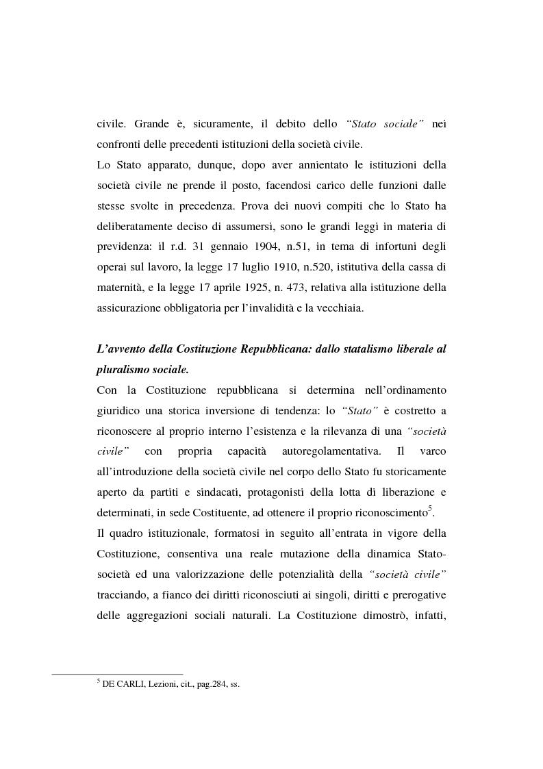 Anteprima della tesi: Gli enti non lucrativi, Pagina 5