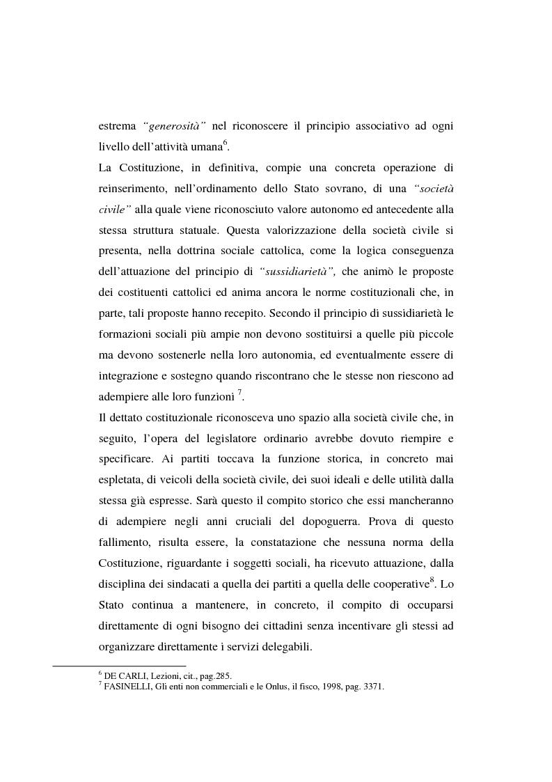 Anteprima della tesi: Gli enti non lucrativi, Pagina 6