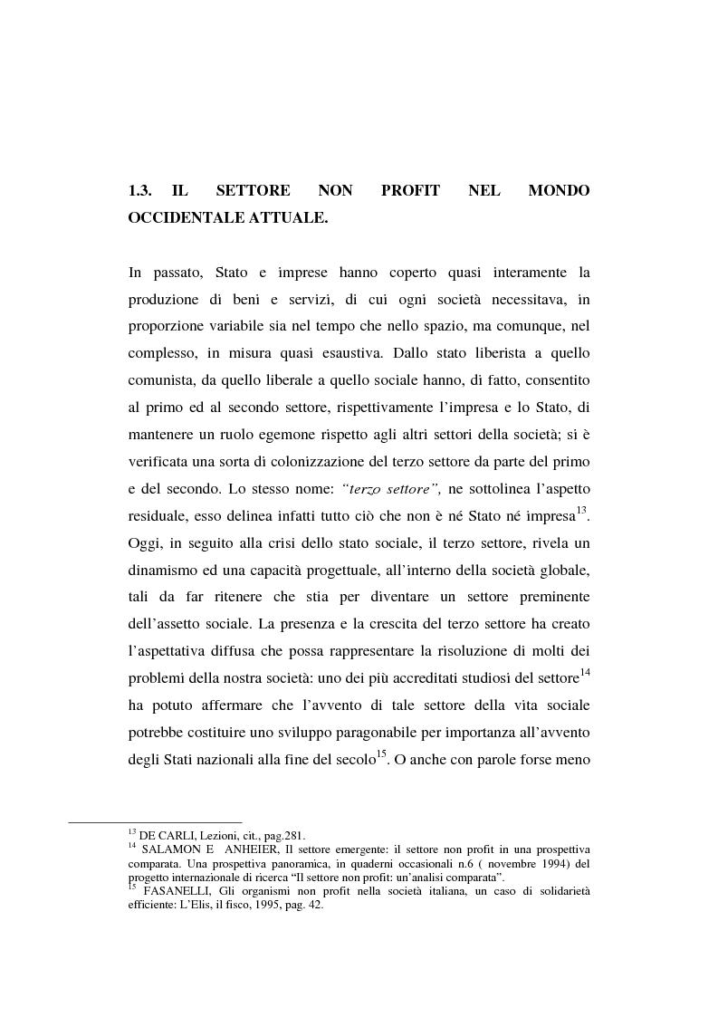 Anteprima della tesi: Gli enti non lucrativi, Pagina 9