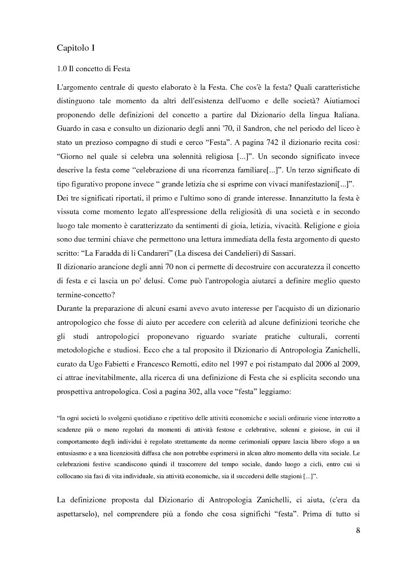 Anteprima della tesi: La Discesa dei Candelieri: appunti per una ricerca etnografica, Pagina 8