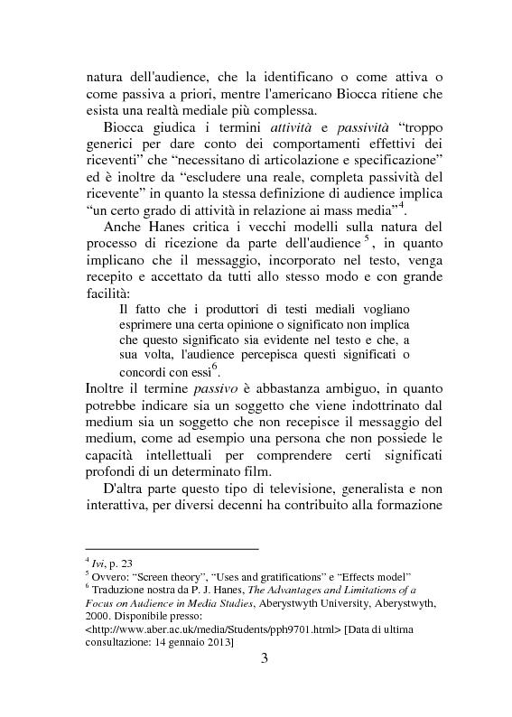 Anteprima della tesi: Social Tv e Serie Televisive Americane, Pagina 7