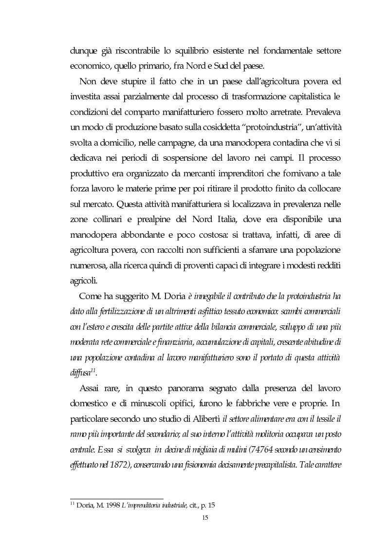 Anteprima della tesi: Il capitalismo italiano del secondo dopoguerra: persistenze e mutazioni, Pagina 10