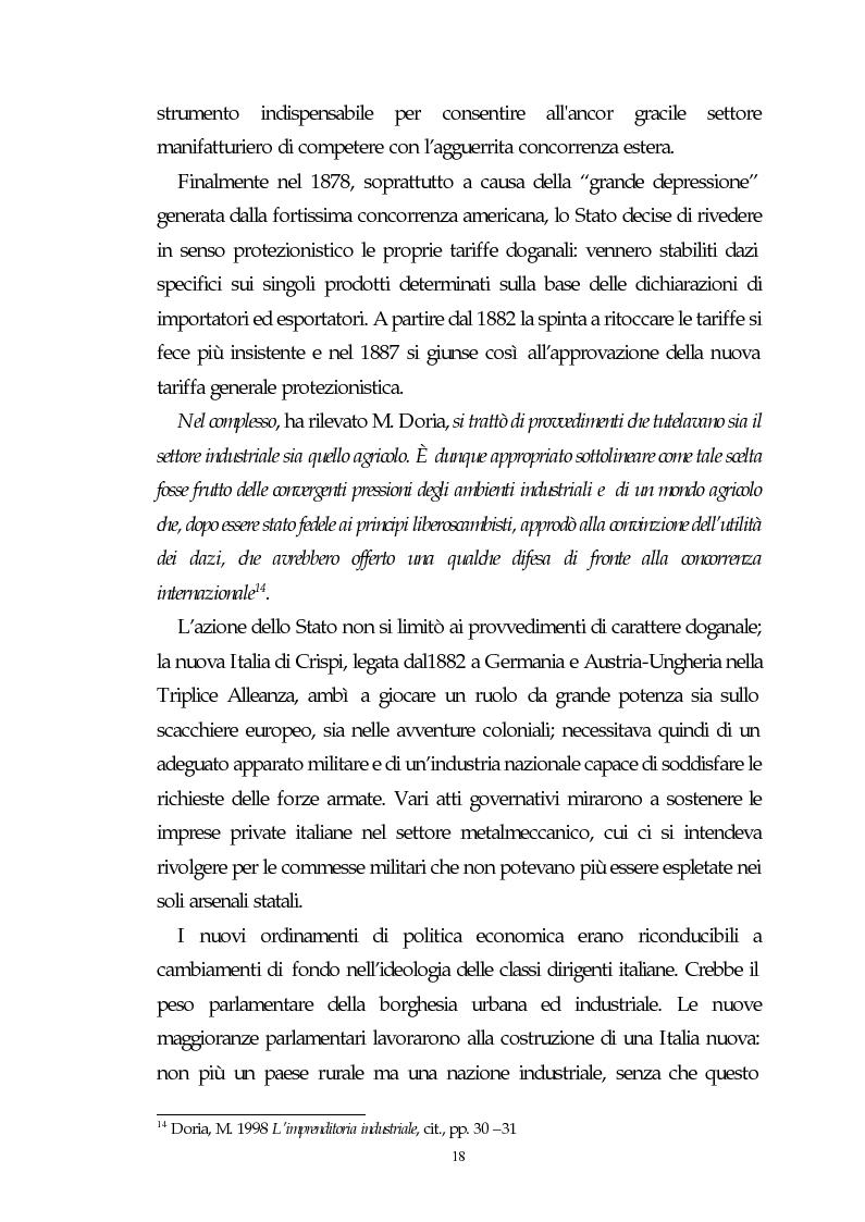 Anteprima della tesi: Il capitalismo italiano del secondo dopoguerra: persistenze e mutazioni, Pagina 13
