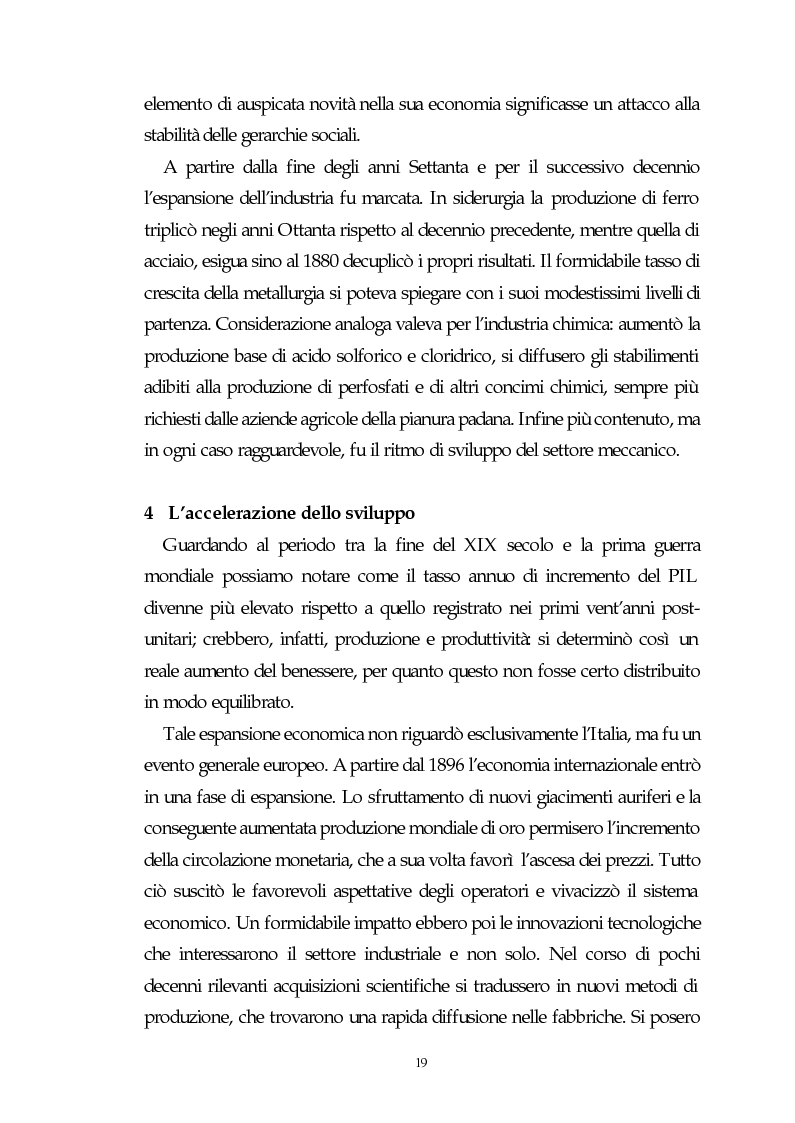 Anteprima della tesi: Il capitalismo italiano del secondo dopoguerra: persistenze e mutazioni, Pagina 14