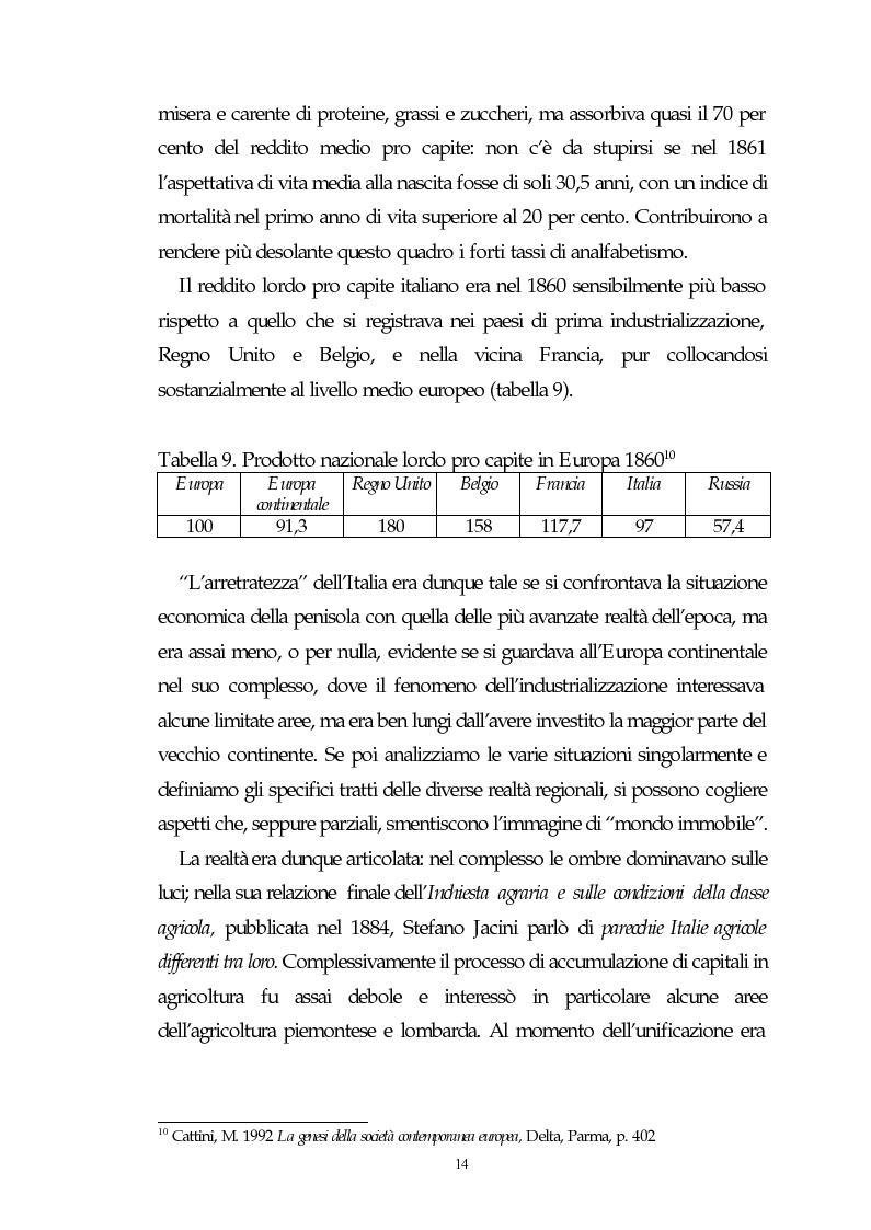 Anteprima della tesi: Il capitalismo italiano del secondo dopoguerra: persistenze e mutazioni, Pagina 9