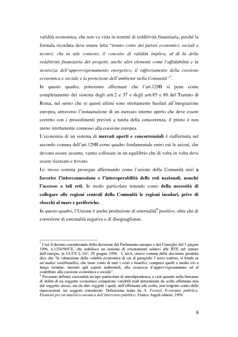 Anteprima della tesi: La funzione delle reti transeuropee nel quadro della costruzione europea, Pagina 8