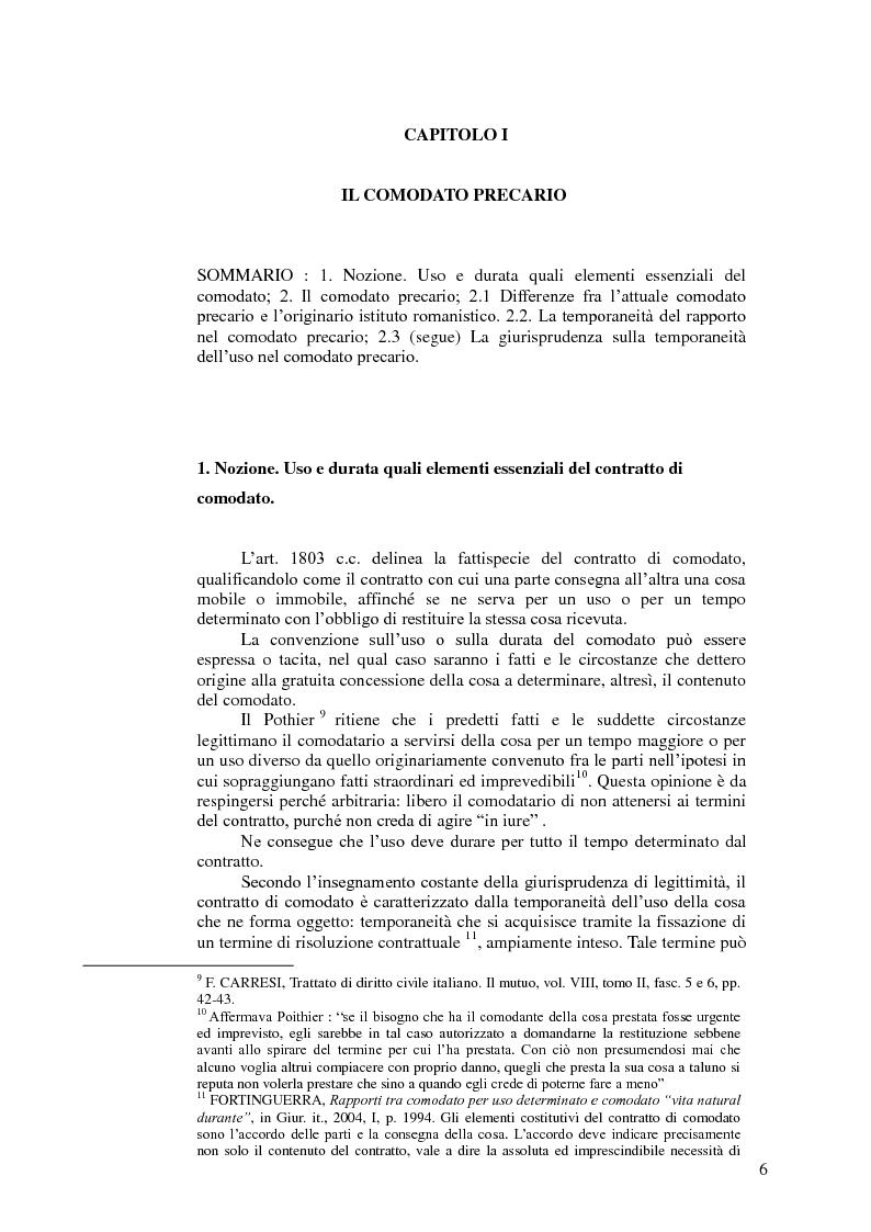 Uso e durata quali elementi essenziali del contratto di - Contratto di donazione immobile ...