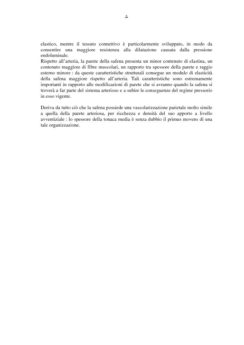 Anteprima della tesi: Il by-pass femoro distale con vena, Pagina 5