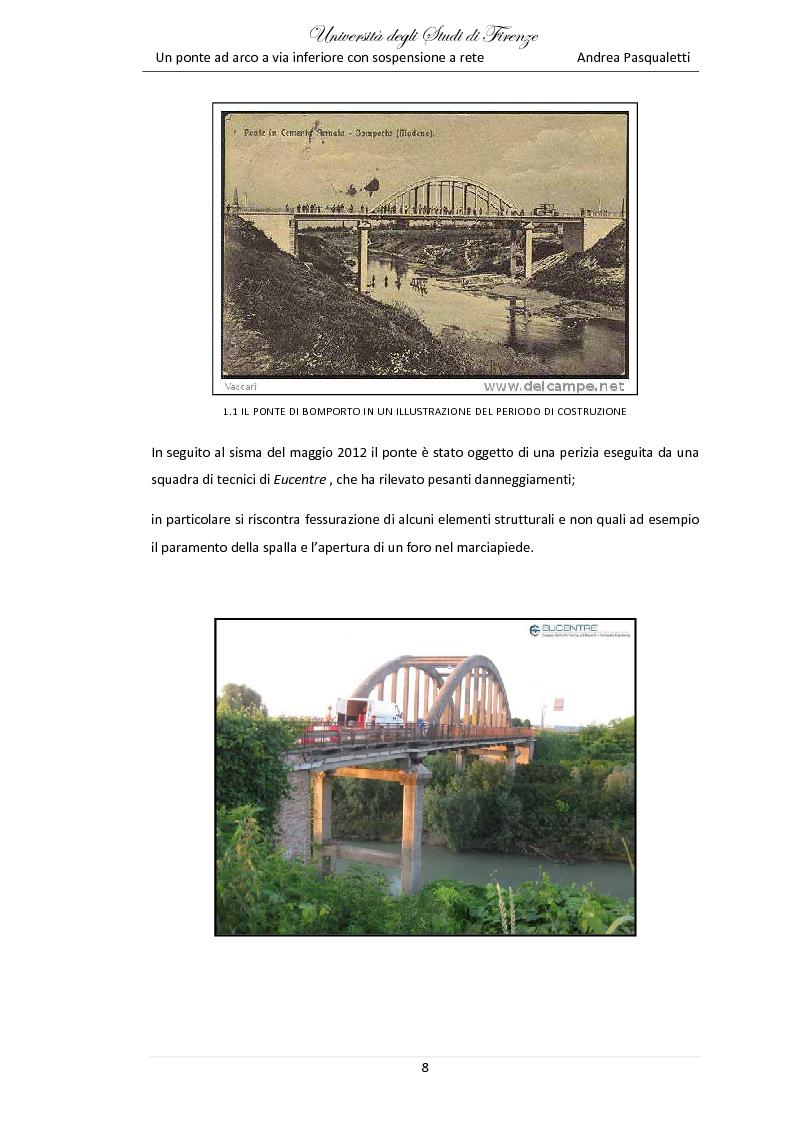 Tesi di laurea magistrale un ponte ad arco a via for Planimetrie della cabina ad arco