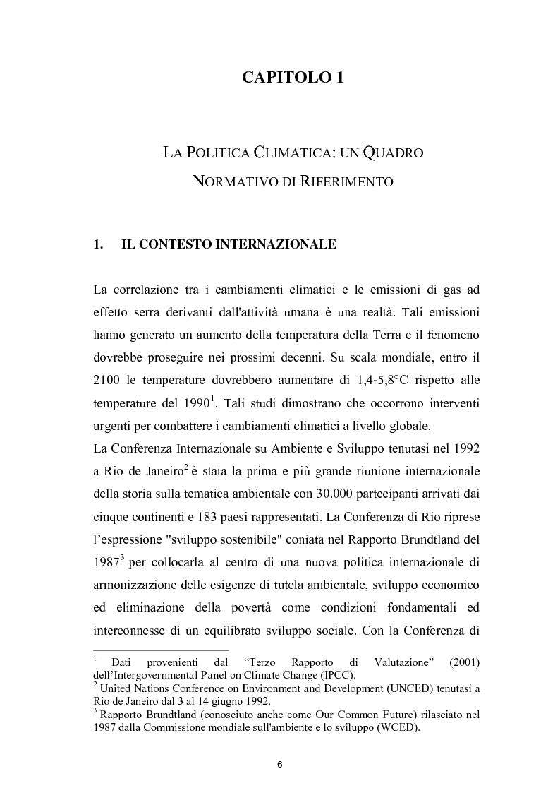 Attuazione del Piano d'Azione per l'Energia Sostenibile (SEAP). Uno studio preliminare per la provincia di Pescara - Tes...