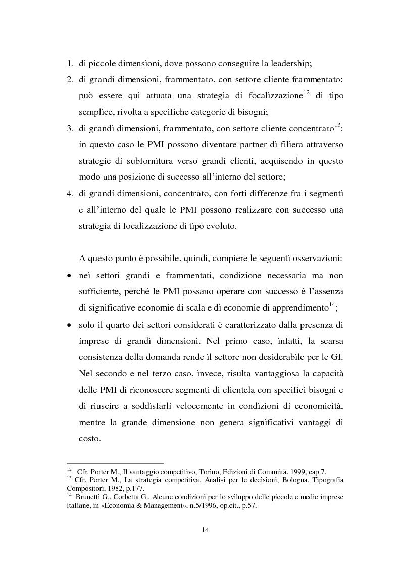 Estratto dalla tesi: Strategie competitive delle PMI nei mercati di largo consumo: il caso Margò S.a.s..