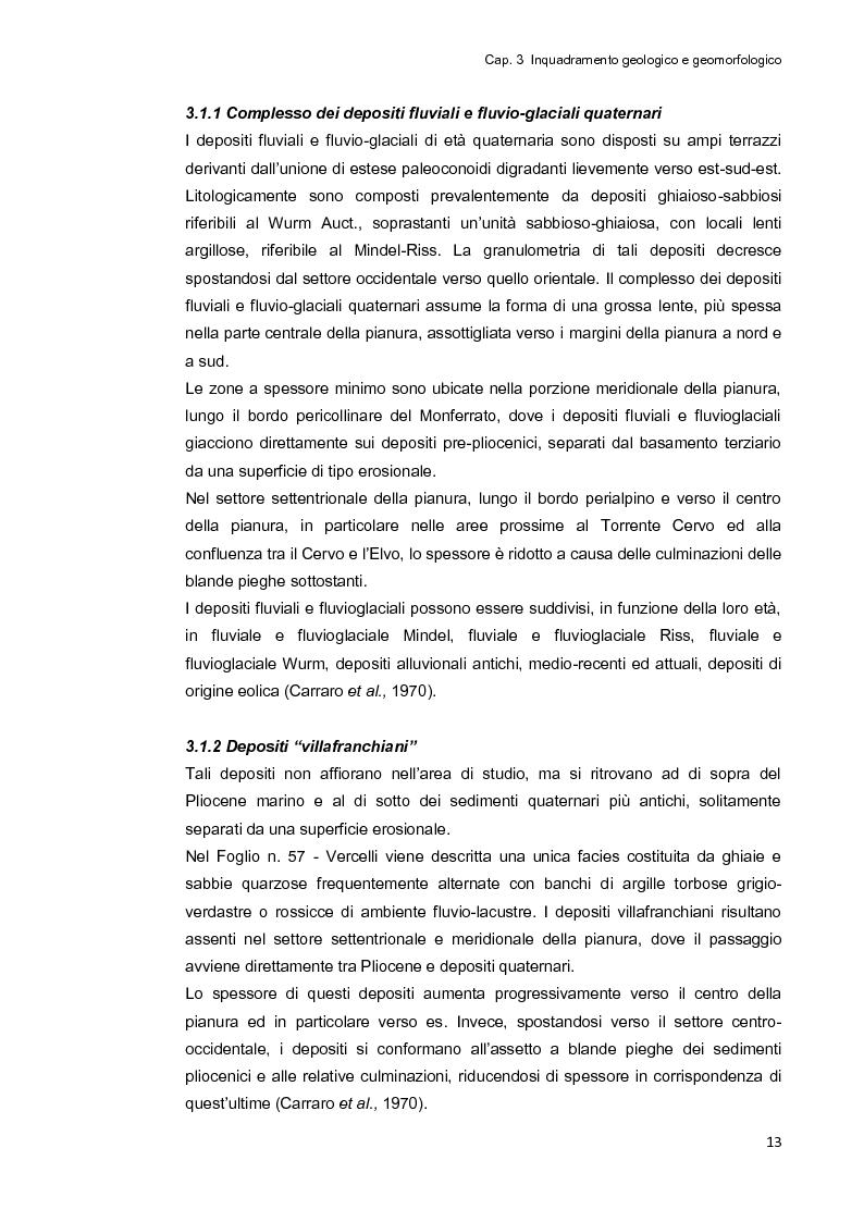 Estratto dalla tesi: Inquinamento ambientale da fibre e particelle inorganiche nel territorio di Vercelli