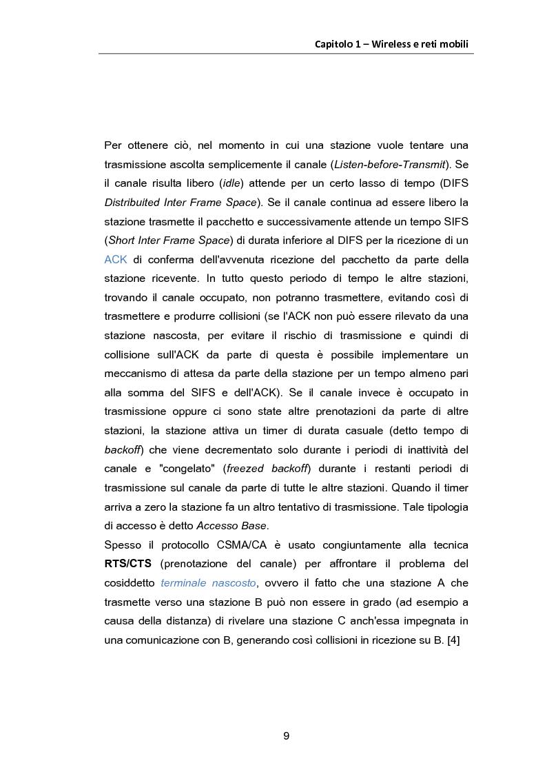 Estratto dalla tesi: Studio di soluzioni di Handover Verticale conformi allo standard IEEE 802.21 e basate sull'introduzione e utilizzo dell'Information Server