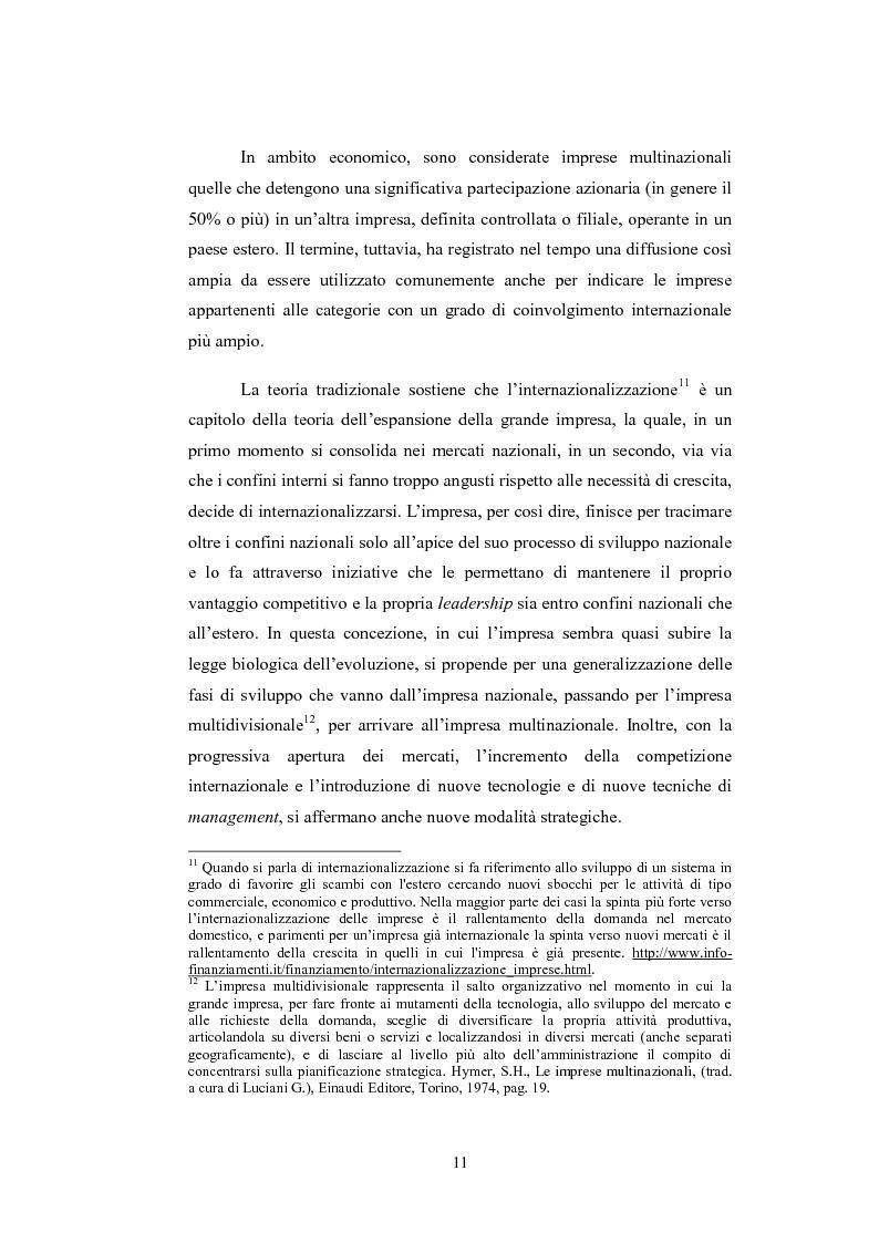 Estratto dalla tesi: La rilevanza della comunicazione interculturale nelle strategie di mercato dell'azienda multinazionale