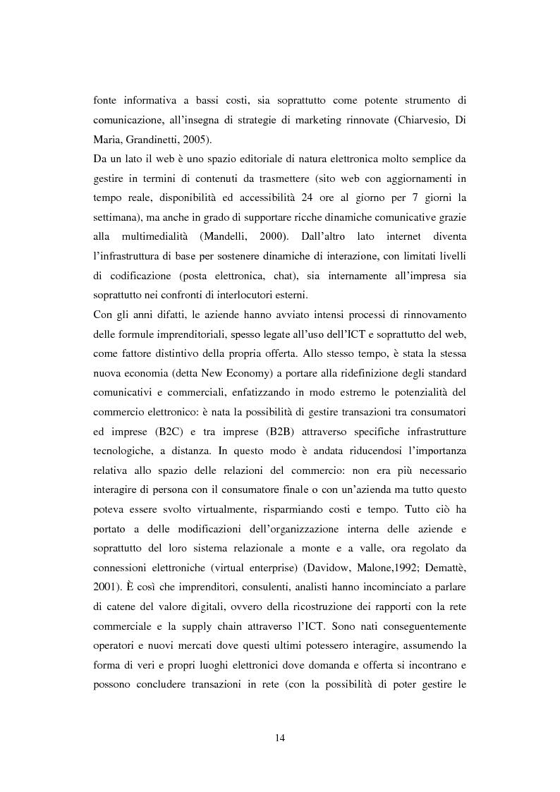 Estratto dalla tesi: Il ruolo delle ICT nelle aziende: domanda ed offerta di nuove tecnologie nel mercato italiano delle piccole imprese