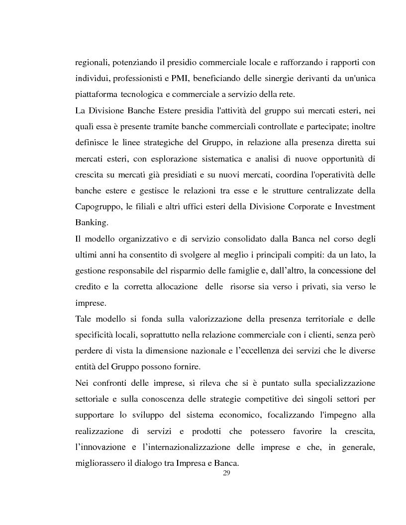 Estratto dalla tesi: La struttura organizzativa e la governance del gruppo Intesa San Paolo. La storia del Banco di Napoli tra splendori, fusioni e ristrutturazioni