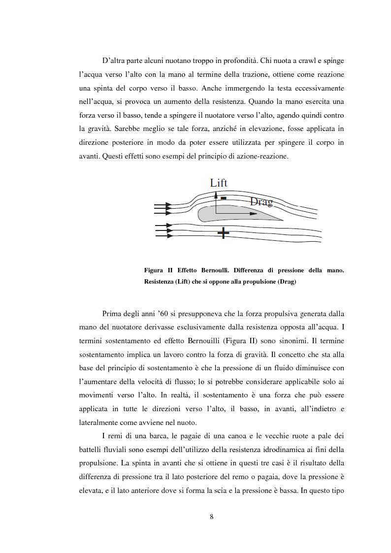 Estratto dalla tesi: Allenamento a secco nella nuotata a crawl: confronto tra brevi e lunghe distanze