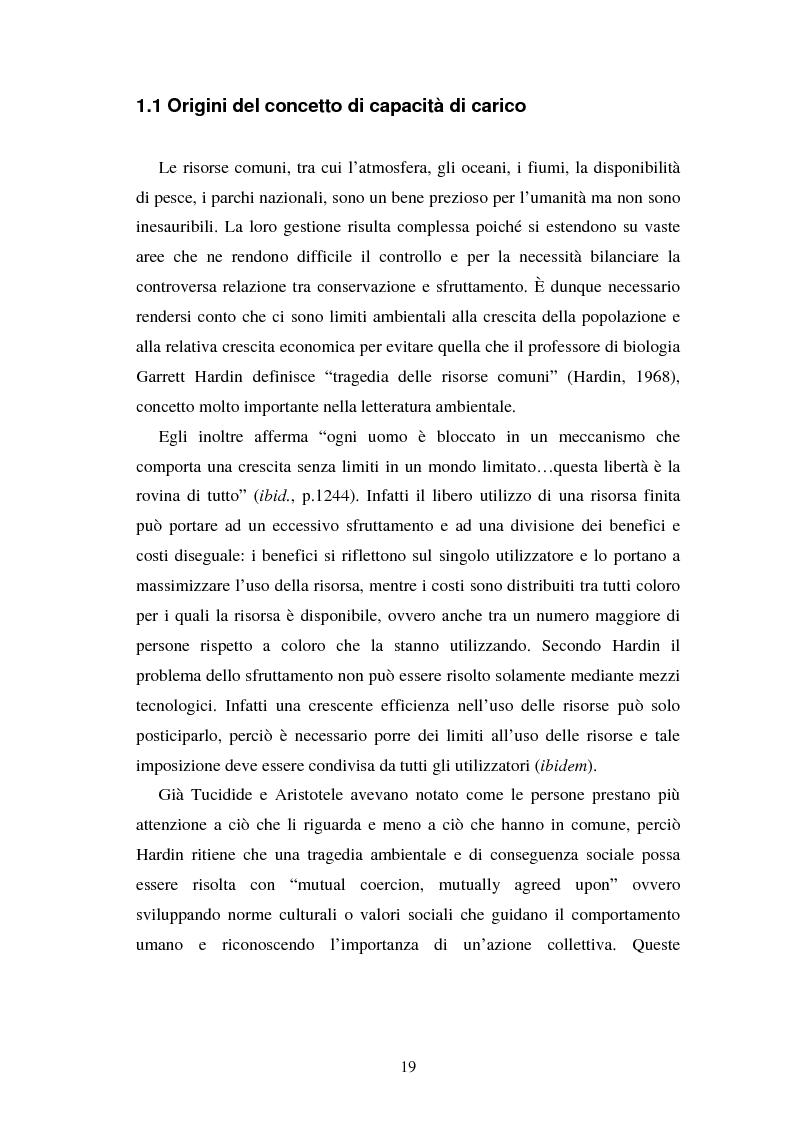Estratto dalla tesi: La capacità di carico turistica per le aree protette: un' analisi del territorio del Parco Adamello