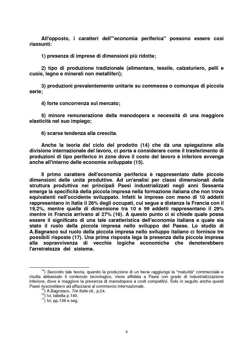 Anteprima della tesi: Modello veneto e Terza Italia: un caso di insediamento calzaturiero nel territorio veronese (1954-1985), Pagina 15