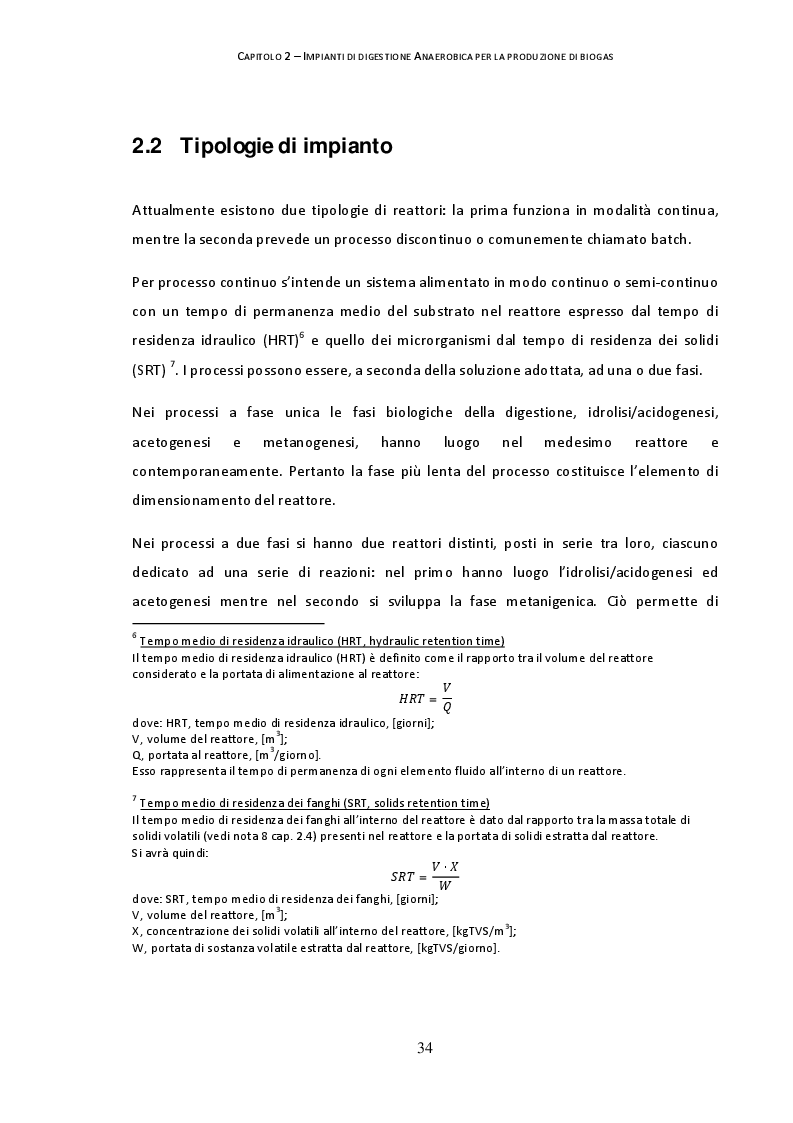 Estratto dalla tesi: Analisi delle prestazioni di un impianto di cogenerazione a biogas da digestione anaerobica da 1 MW