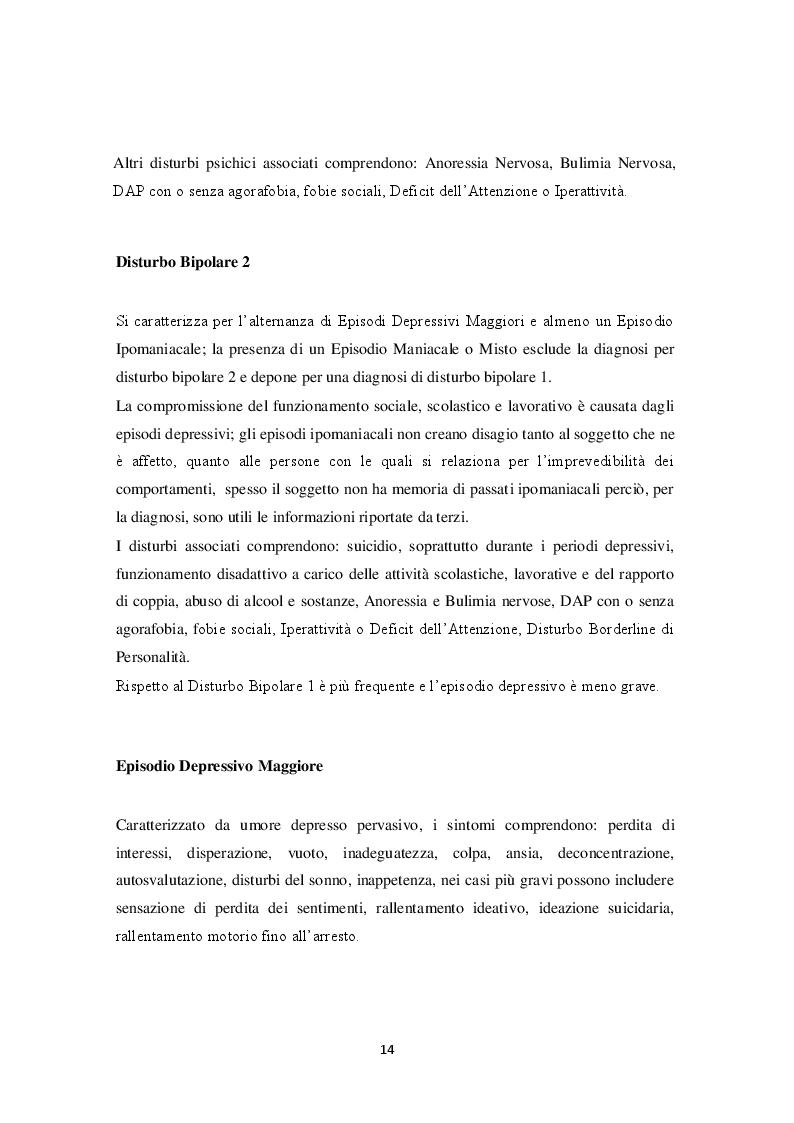 Estratto dalla tesi: Attaccamento e psicopatologia: linee teoriche e ricerca empirica