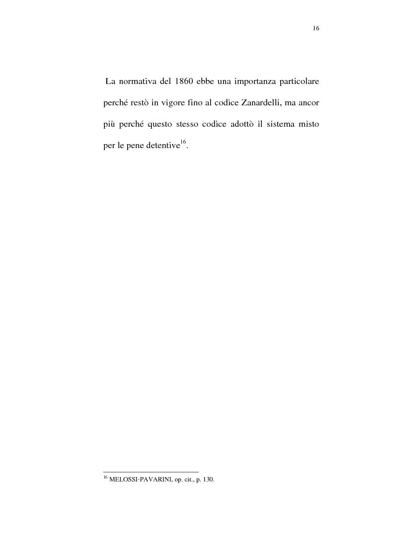 Anteprima della tesi: Il lavoro carcerario. Origine ed evoluzione normativa. L'esperienza del carcere di Pisa, Pagina 15