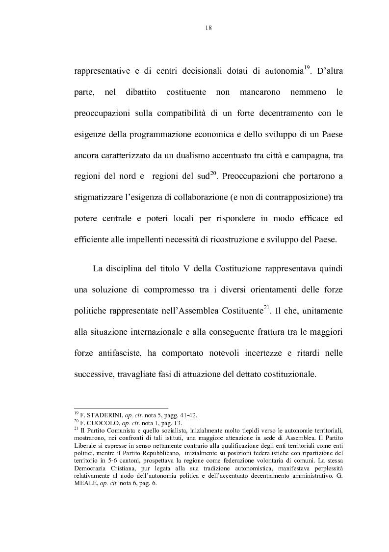 Anteprima della tesi: La riforma delle autonomie locali, Pagina 12