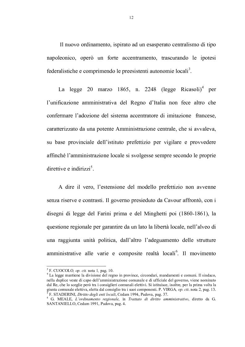 Anteprima della tesi: La riforma delle autonomie locali, Pagina 6
