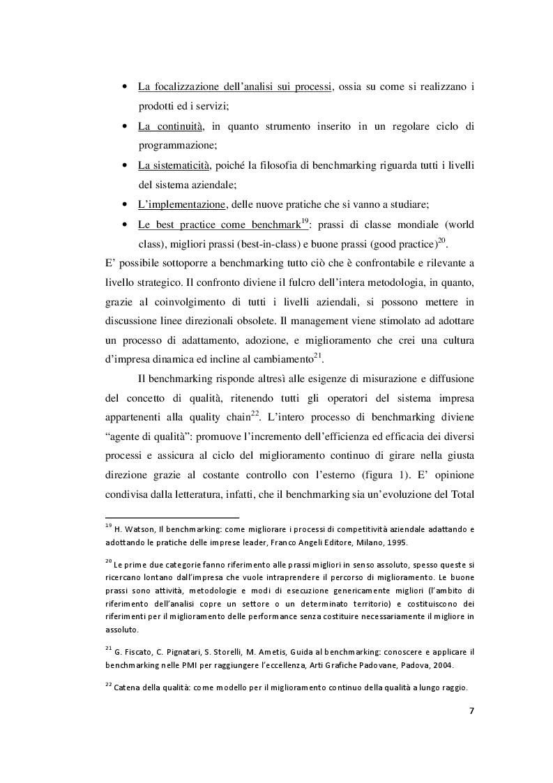 Estratto dalla tesi: Il benchmarking negli enti pubblici territoriali: le esperienze internazionali