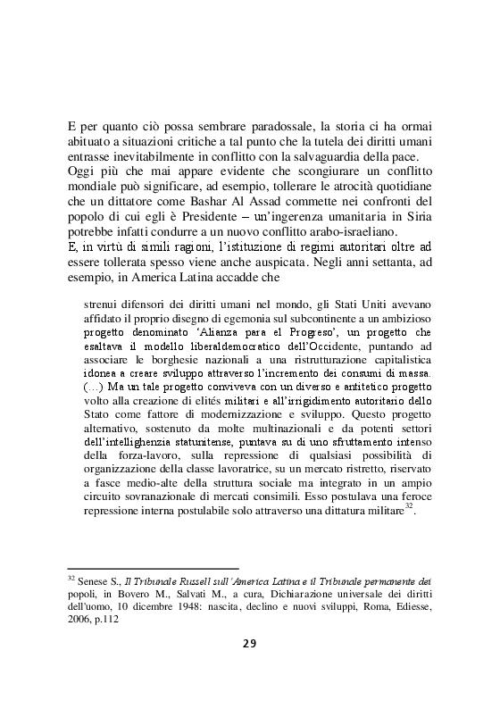 Estratto dalla tesi: La guerra di Felipe - L'affermazione storica dei diritti umani nel contesto globale e gli abusi nel Messico di Felipe Calderón