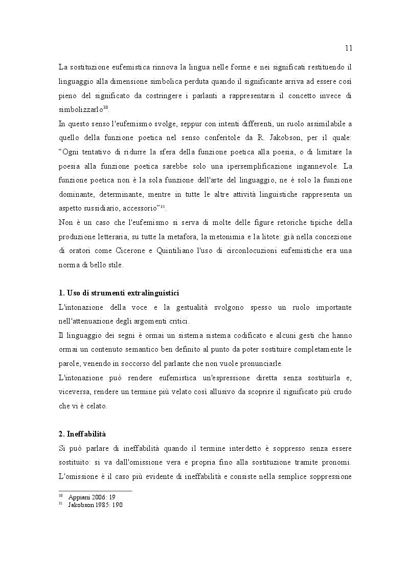 Estratto dalla tesi: Interdizione verbale ed eufemismi nel mondo latino: il campo lessicale del sesso